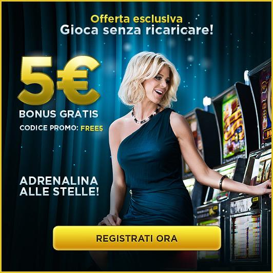 5 euro bonus senza deposito - starcasino.it